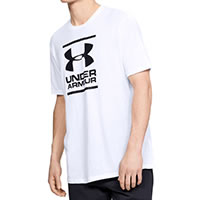 FOUNDATION TEE WHITE - Under Armour