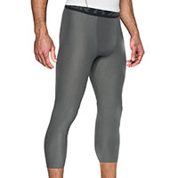 HG LEGGING QUART GRIS  - Under Armour