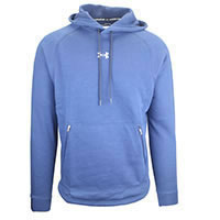 HOODIE CHARGED FLEECE NAVY - Under Armour