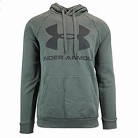 HOODIE RIVAL FLEECE GREEN - Under Armour