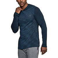 HOODIE THREADBORNE NAVY - Under Armour