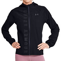 JACKET W QUALIFIER STORM BLACK - Under Armour