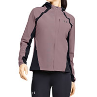 JACKET W QUALIFIER STORM PINK - Under Armour