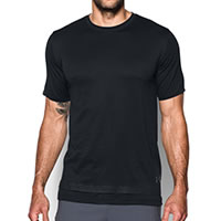 LAYERED TEE BLACK - Under Armour