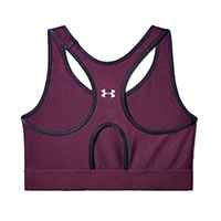 MIDKEYHOLE BRA PURPLE - Under Armour