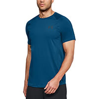 RAID 2 TSHIRT MOROCCAN BLUE - Under Armour