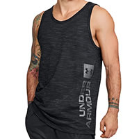 SPORTSTYLE GRAPHIC TANK BLACK - Under Armour