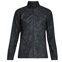 STORM W PRINTED JACKET BLACK - Under Armour