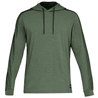 TB TERRY HOODIE GREEN - Under Armour