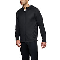 TERRY HOODIE FZ BLACK - Under Armour