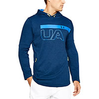 TERRY PULLOVER BLUE GRAPHIC - Under Armour