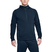 THREADBORNE HOODIE NAVY - Under Armour