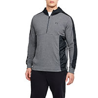 THREADBORNE HOODIE STEEL - Under Armour