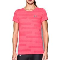 THREADBORNE TSHIRT PINK - Under Armour