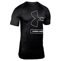 TSHIRT MK1 TONAL PRINT BLACK - Under Armour