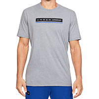 TSHIRT REFLECTION GREY - Under Armour