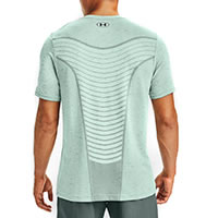 TSHIRT SEAMLESS WAVE BLUE - Under Armour