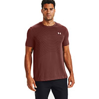 TSHIRT SEAMLESS WAVE RED - Under Armour