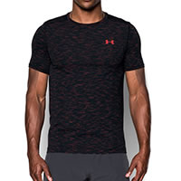 TSHIRT THREADBORNE RED BLACK - Under Armour
