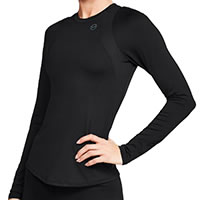 TSHIRT W RUSH LS BLACK - Under Armour