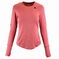TSHIRT W RUSH LS PINK - Under Armour
