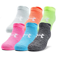 UA ESSENTIALS W NO SHOW PINK - Under Armour