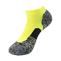 UA RUN CUSHION YELLOW - Under Armour