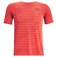 UA SEAMLESS FADE RED - Under Armour