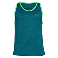 UA TECH TANK GREEN - Under Armour