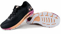UA W HOVR SONIC 4 BLACK PINK - Under Armour