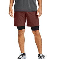 VANISH WOVEN SHORT RED - Under Armour