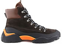 CAT 02 TREK HI BROWN - Voile Blanche
