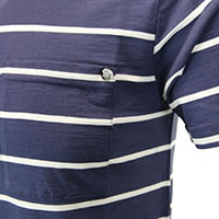 KAIEN TEE DENIM STRIPES - We Norwegians