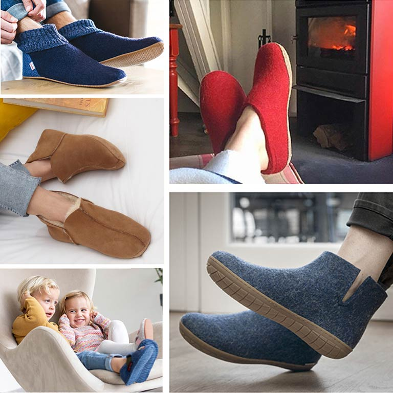 Nouvelle collection automne-hiver 2020 Chaussons